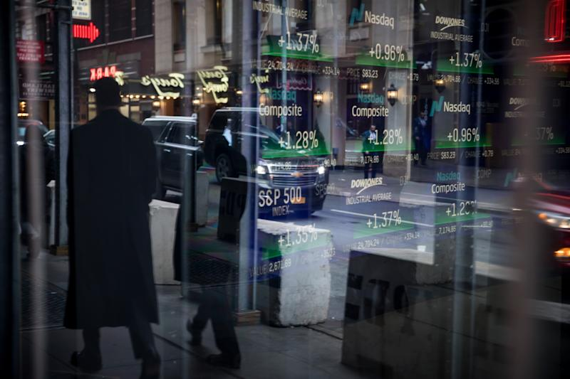 Red-Hot Nasdaq Run Is the Triumph of a Few Stocks Over the Many