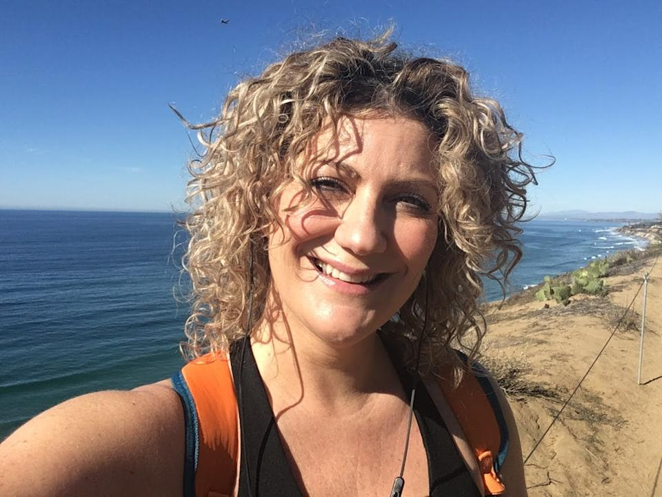 Mel MacIntyre ditched City life - and her six-figure salary - for a much more peaceful life on a remote Scottish island. (Supplied)