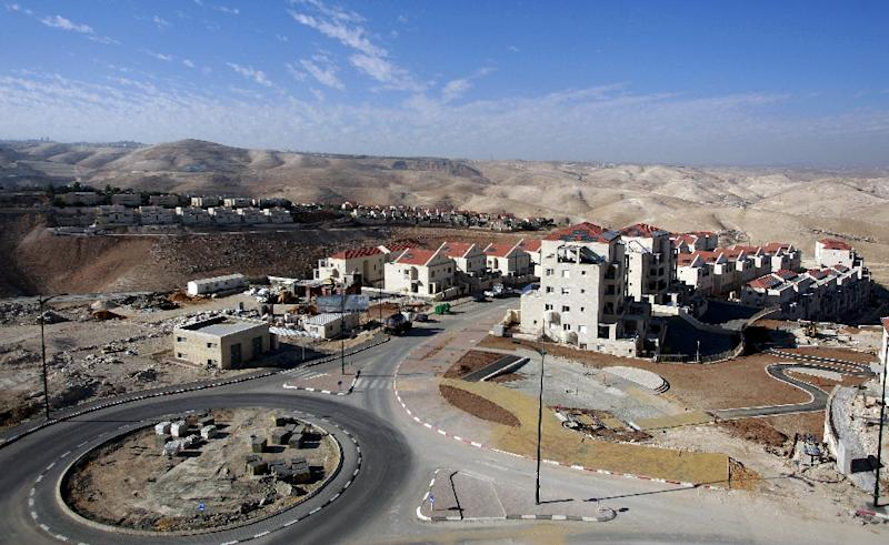 The Jewish settlement of Maale Adumim, east of Jerusalem, already includes a population of more than 37,000 (AFP Photo/Ahmad Gharabli)
