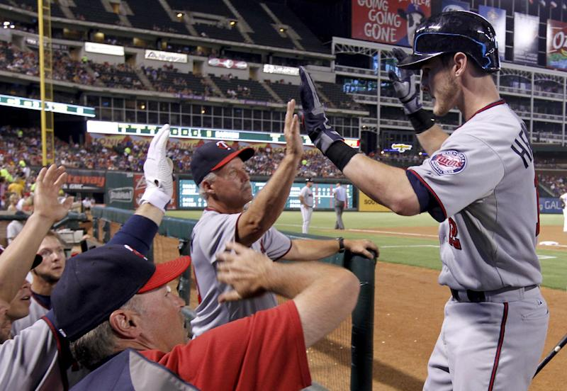 Twins HRs end Darvish no-hit bid in 7th, top Texas