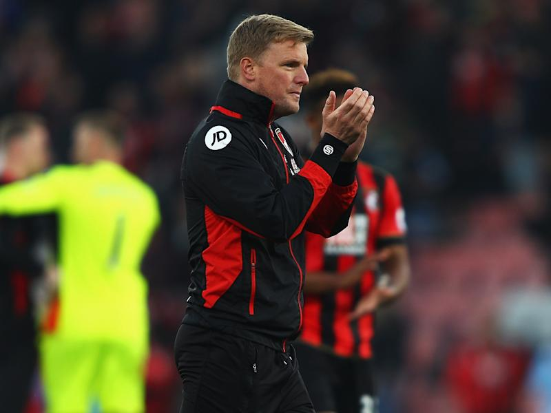Howe's Bournemouth have a decent record against the top six: Getty