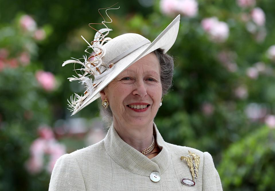 Princess Anne has stuck to traditional etiquette (PA)
