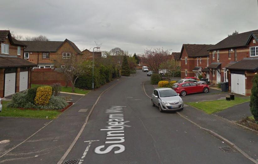 The incident happened in Sunbeam Way, Kitts Green, in Birmingham. (Google)