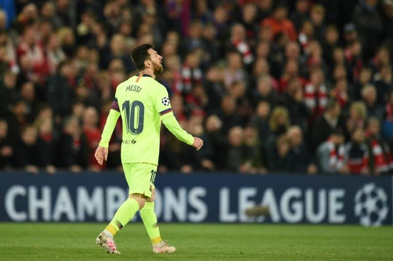 Barcelona are still hurting after their Champions League semi-final defeat to Liverpool