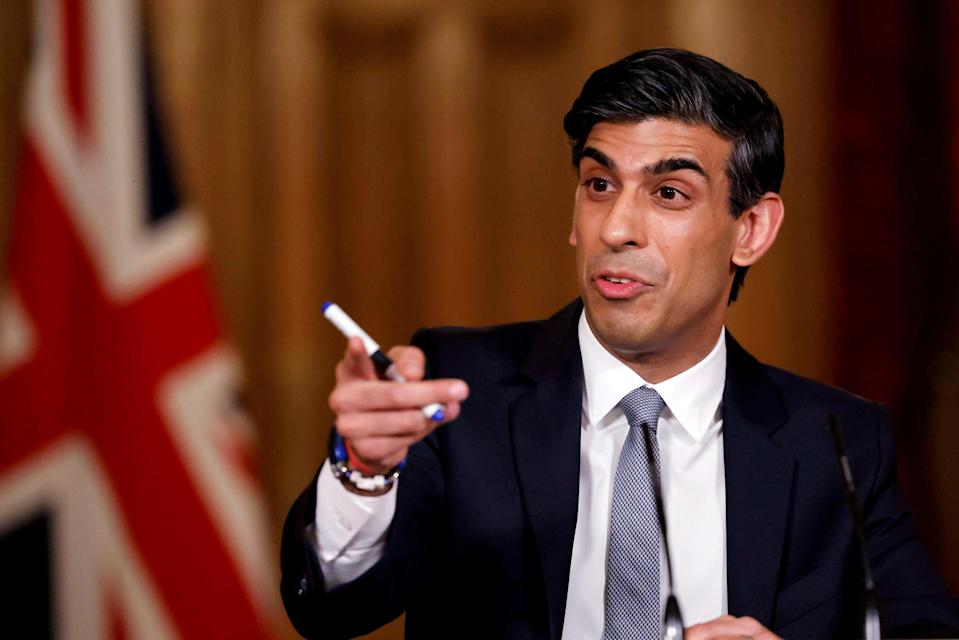 <p>Rishi Sunak wants the UK to 'push the boundaries of digital finance'</p> (Tolga Akmen/Pool Photo via AP)