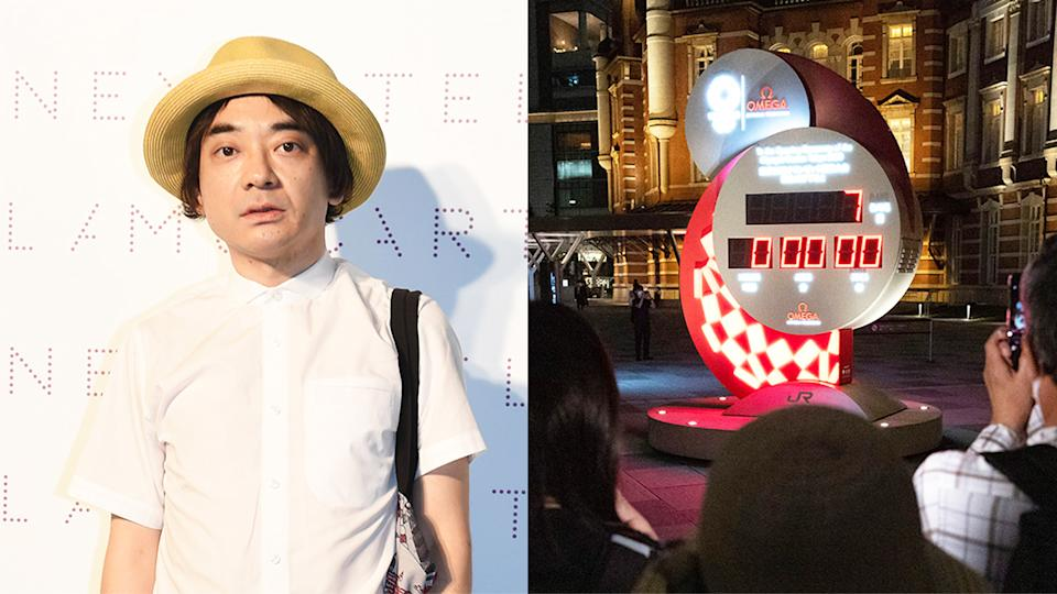 Music composer Keigo Oyamada (pictured left) and the countdown to the Opening Ceremony of the Tokyo Olympic Games.