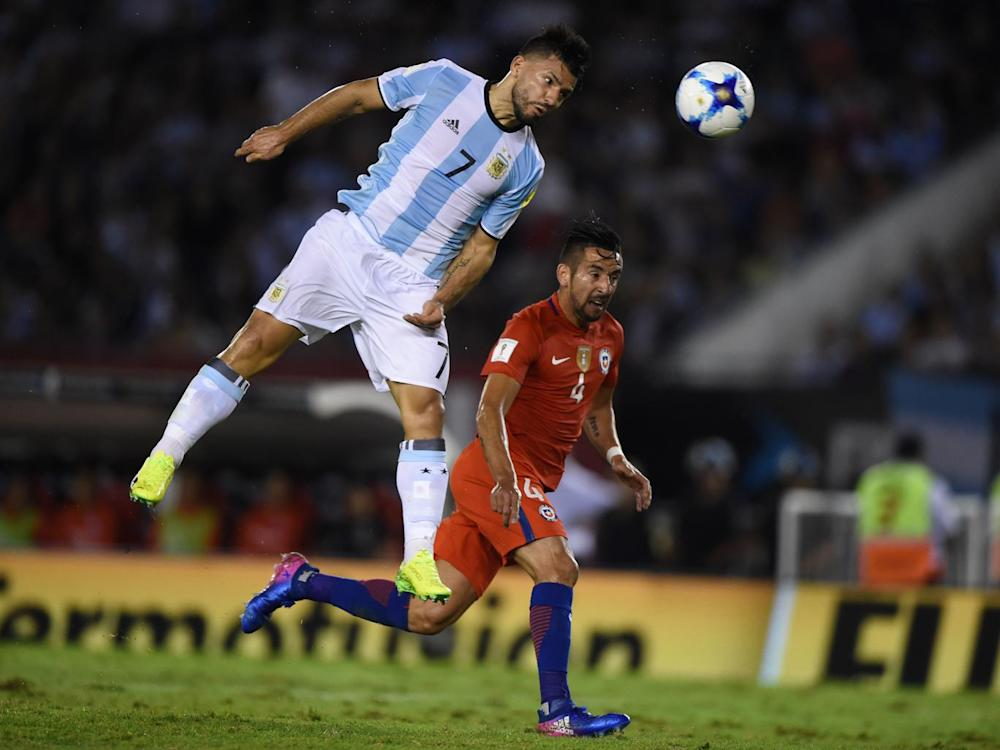 Aguero struggled in a withdrawn role (AFP/Getty)