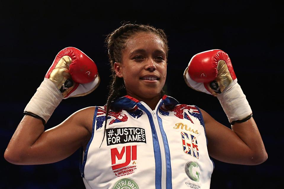Natasha Jonas lost to Katie Taylor at the 2012 Olympic Games in LondonGetty Images