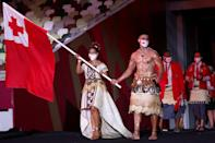 <p>Pita Taufatofua — who sent the Internet into a frenzy when he carried the Tongan flag shirtless at the 2016 Olympic Games in Rio — is back for the Tokyo Olympics and, TBH, thank goodness! </p>