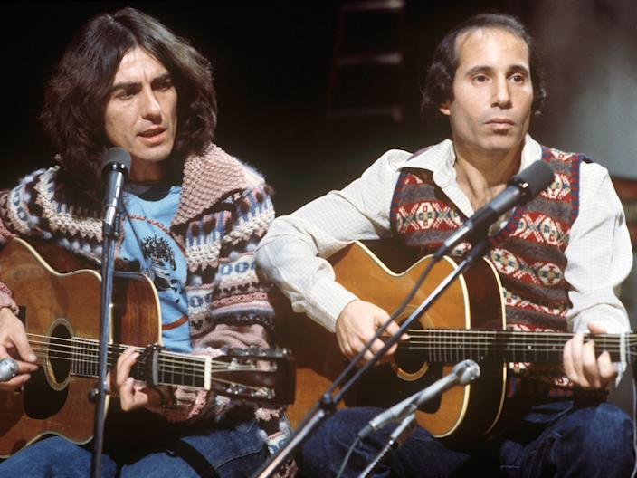 paul simon george harrison snl