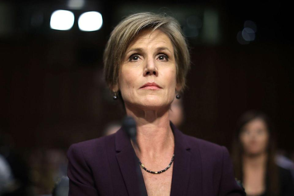 <p>Sally Yates' tenure as Acting Attorney General was brief—she held the position for just 10 days before Donald Trump dismissed her for insubordination following her refusal to defend his Muslim travel ban in early 2017. </p>