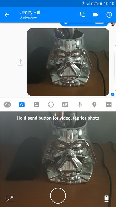 how to delete a photo you sent on messenger