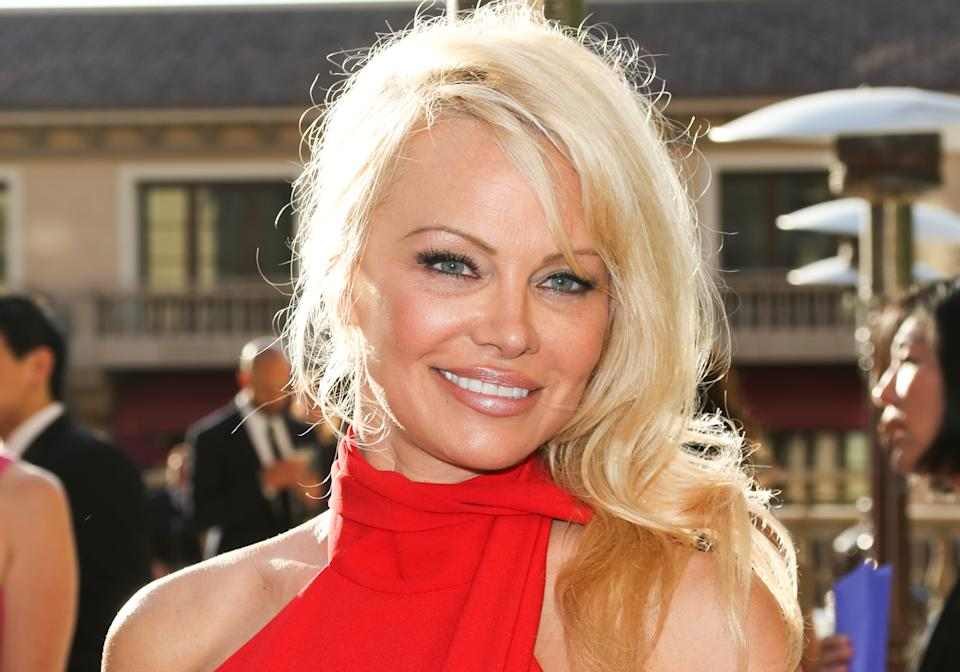 Pamela Anderson still owns her famous red swimsuit.(Photo: Paul Archuleta/FilmMagic)