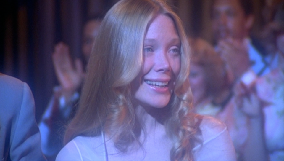 <p><strong>IMDb says:</strong> Carrie White, a shy, friendless teenage girl who is sheltered by her domineering, religious mother, unleashes her telekinetic powers after being humiliated by her classmates at her senior prom.</p><p><strong>We say: </strong>We feel sorry for whoever had to clear that mess up.</p>