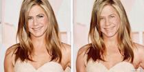 <p>We can't believe Jen An is pushing 50! She looks fab with or without makeup. </p>