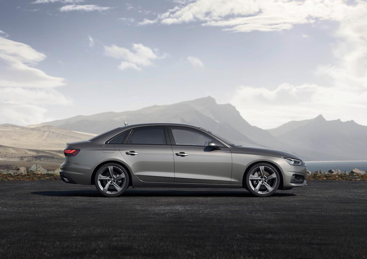 The updated A4 features a wide variety of engines