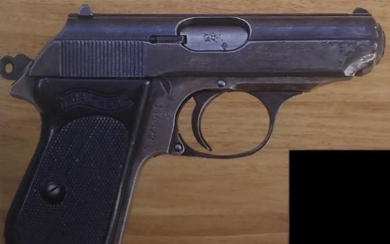 The Walther PPK from A View to a Kill (Metropolitan Police)