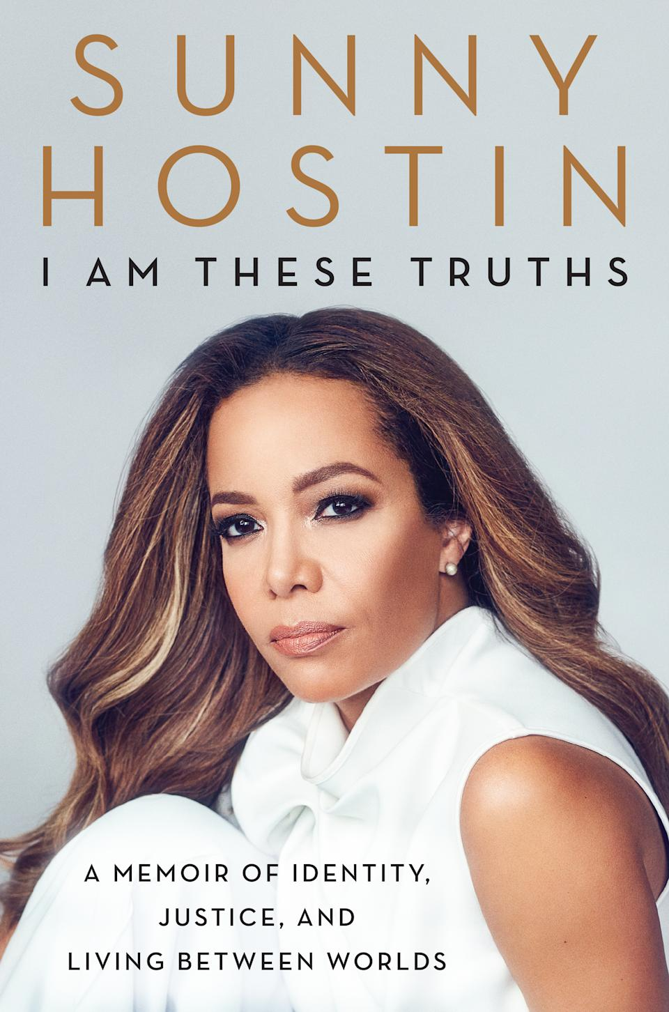 "Sunny Hostin's new memoir, ""I Am These Truths."""