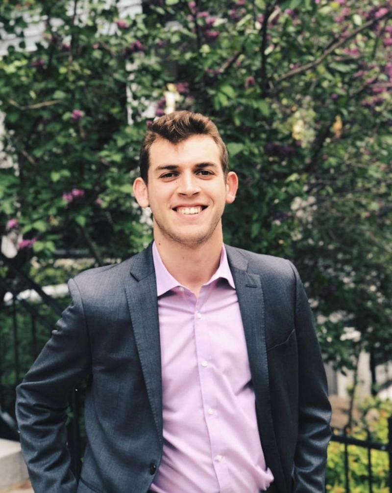 Alex Gold-Apel was part of the group that created a petition calling on the federal government to provide income assistance to students. (Photo: Courtesy of Alex Gold-Apel)