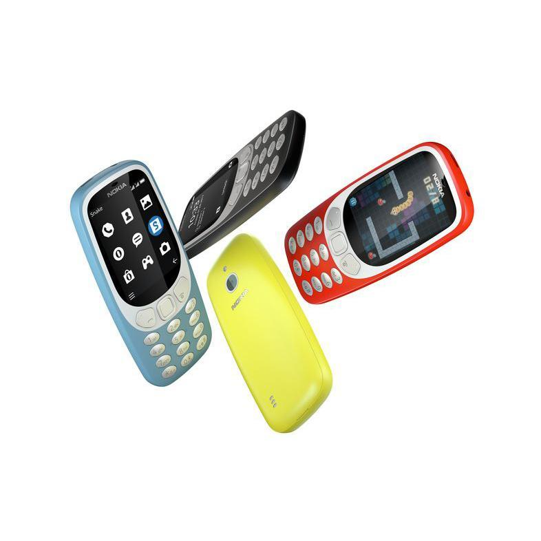 Nokia 3310 3G phones will be available in Singapore from October. (Photo: HMD Global)