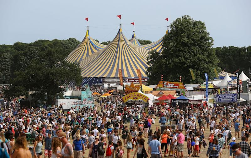 Festivals can be a good option for a first trip without the parents. Latitude in Suffolk (pictured) and the Reading Festival in particular are well run - Credit: Gareth Fuller