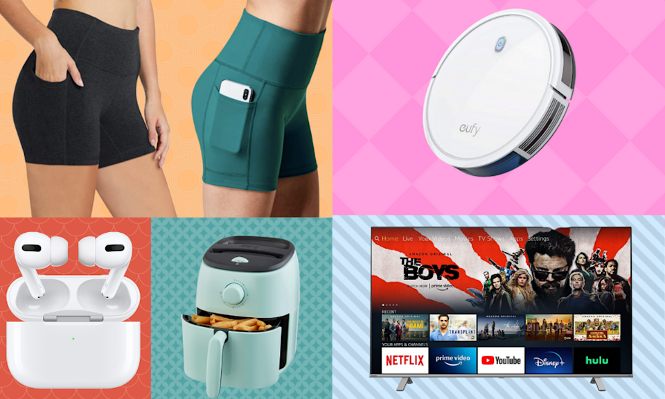 Score nearly 50 percent off everything from AirPods to leggings. (Photo: Amazon)