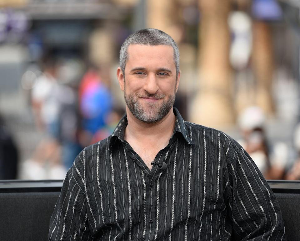 """<p>Dustin Diamond, best-known for his role as Samuel """"Screech"""" Powers on <strong><a class=""""link rapid-noclick-resp"""" href=""""https://www.popsugar.com/Saved-by-the-Bell"""" rel=""""nofollow noopener"""" target=""""_blank"""" data-ylk=""""slk:Saved by the Bell"""">Saved by the Bell</a></strong>, died on Feb. 1 <a href=""""https://variety.com/2021/tv/news/dustin-diamond-dead-saved-by-the-bell-screech-1234897484/"""" class=""""link rapid-noclick-resp"""" rel=""""nofollow noopener"""" target=""""_blank"""" data-ylk=""""slk:after being diagnosed with carcinoma in January"""">after being diagnosed with carcinoma in January</a>. He was 44.</p>"""