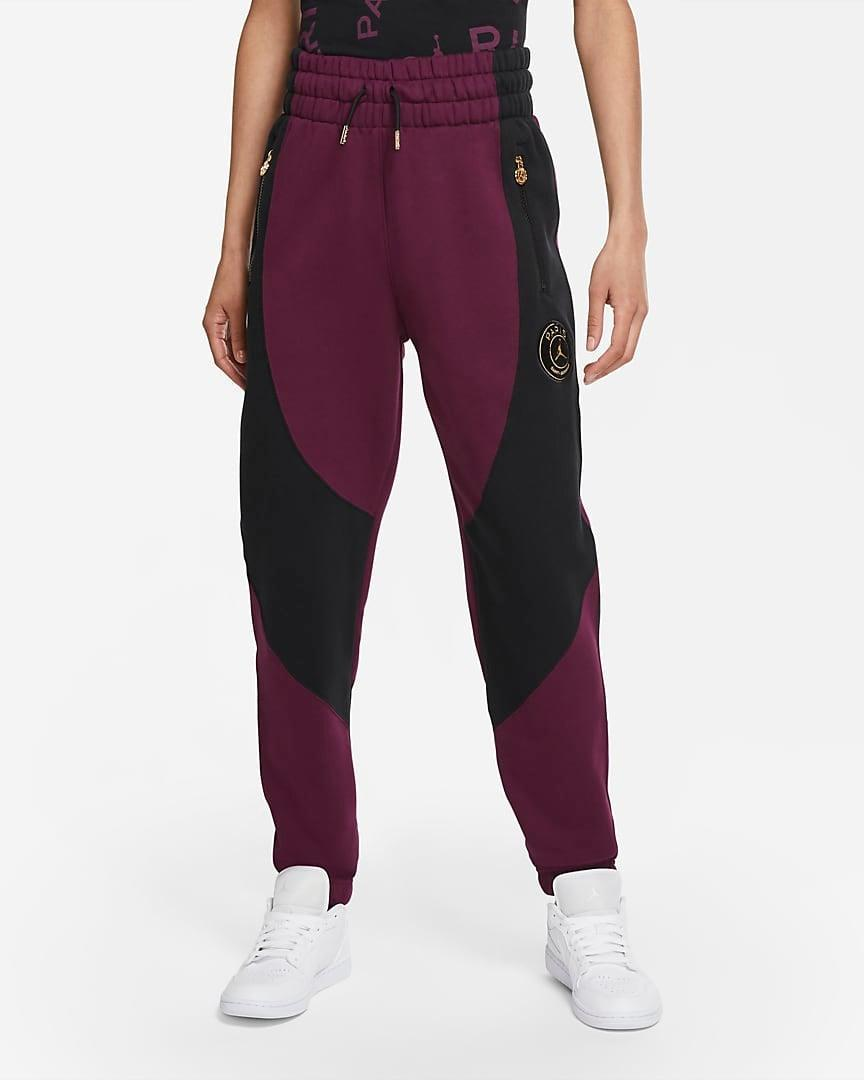 "<br><br><strong>Nike</strong> Fleece Pants, $, available at <a href=""https://go.skimresources.com/?id=30283X879131&url=https%3A%2F%2Fwww.nike.com%2Ft%2Fparis-saint-germain-womens-fleece-pants-TMtzCb%2FCU5299-610"" rel=""nofollow noopener"" target=""_blank"" data-ylk=""slk:Nike"" class=""link rapid-noclick-resp"">Nike</a>"