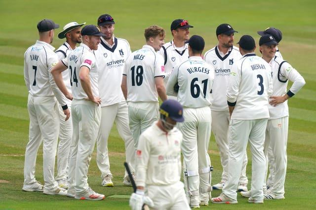 Warwickshire are in charge of the Bob Willis Trophy final (Adam Davy/PA)