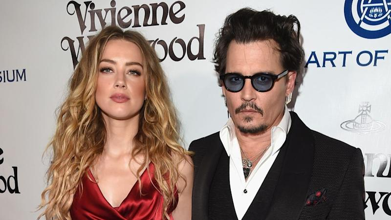 Johnny Depp Accuses Ex-Wife Amber Heard of Having 'Painted ...