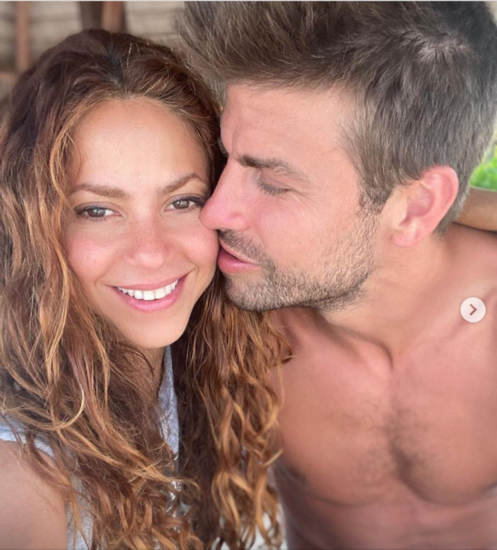 """<p>""""Gerard is completely in Shakira's personal space and she is loving it,"""" Donaldson explains. """"People who are highly attracted to one another aim to reduce the space between each other to be closer."""" </p><p>By leaning into Shakira's personal space, Gerard is subconsciously communicating that he thinks of them as one—a joint unit. And his closed eyes tell Donaldson that he's completely in awe of Shakira. In the process of just lightly pressing his lips against her face, Donaldson can tell that everything else that was previously on Gerard's mind faded to the background.</p>"""