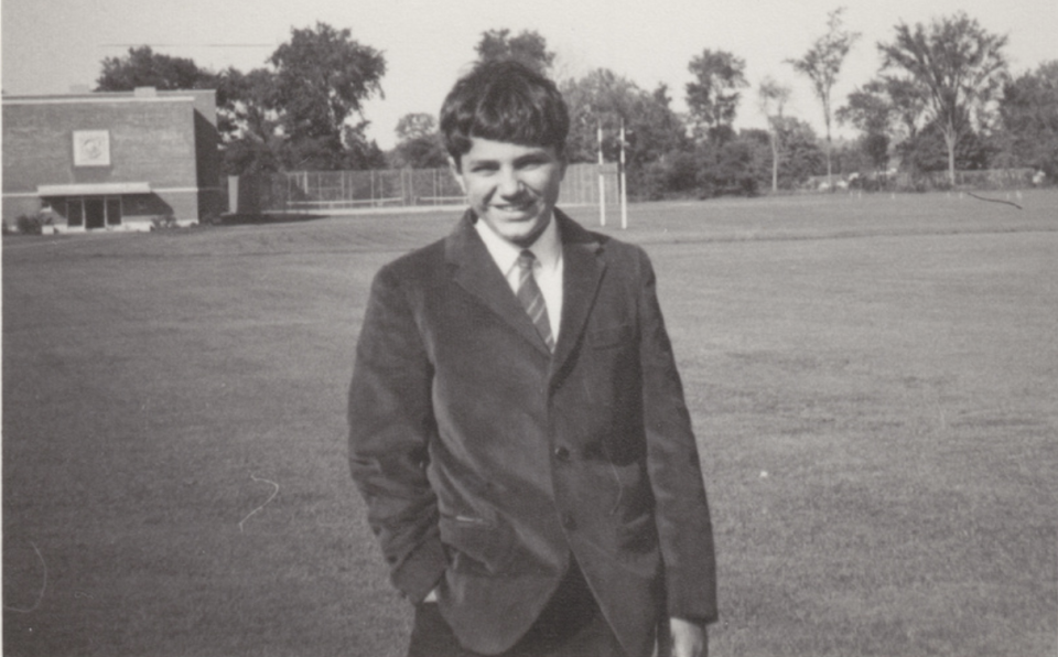 Kevin O'Leary as a child in Montreal, Canada says he missed out on extra-curricular activities like playing soccer because he spent hours at an experimental clinic for dyslexics at McGill Unviersity.
