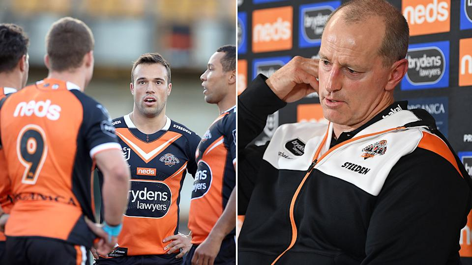 The new documentary shows a side to Tigers coach Michael Maguire that many league may find surprising. Pic: Getty