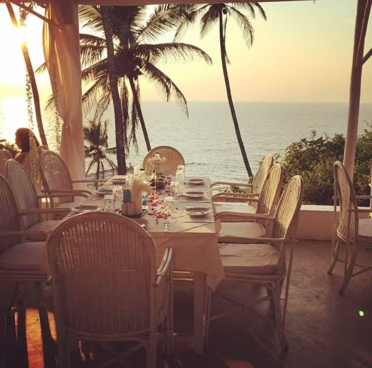 <p><b>Thalassa, Vagator, Goa:</b> Owned and operated by a ex Greek patriot, Thalassa specialises in Greek cuisine. Indulge your tastebuds in their spinach mini fries, flaming saganaki and baby lamb chops as you watch the sun go down over the sea.</p>