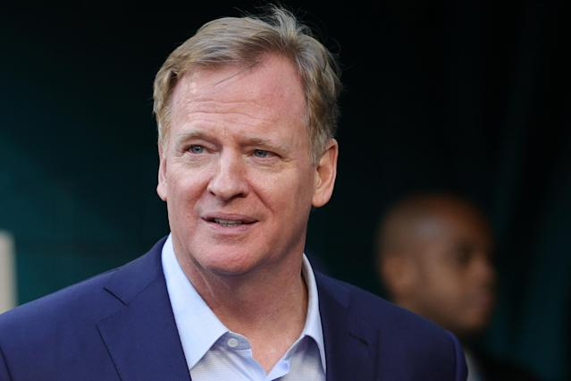 Roger Goodell on Friday released his strongest statement yet on the Black Lives Matter movement. (Photo by Maddie Meyer/Getty Images)