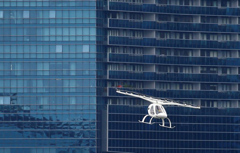 Exclusive: GM explores market for electric 'flying cars' - sources