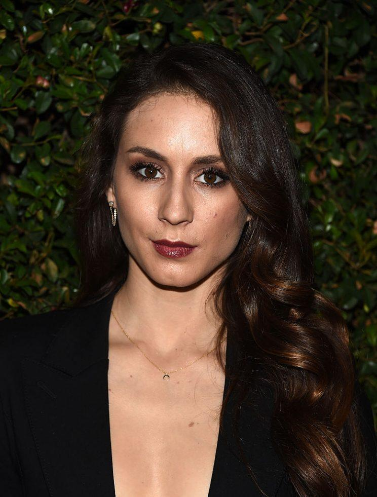 Troian Bellisario doesn't look like this anymore. (Photo by Amanda Edwards/WireImage)