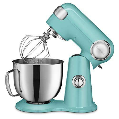 """<p><strong>Cuisinart</strong></p><p>amazon.com</p><p><strong>$199.95</strong></p><p><a href=""""https://www.amazon.com/dp/B074MPMPXS?tag=syn-yahoo-20&ascsubtag=%5Bartid%7C10055.g.2224%5Bsrc%7Cyahoo-us"""" rel=""""nofollow noopener"""" target=""""_blank"""" data-ylk=""""slk:Shop Now"""" class=""""link rapid-noclick-resp"""">Shop Now</a></p><p>This stand mixer can tackle your every need from folding to making heavy dough bread. It features 12 speed settings that are easy to select with the turn of a dial. The lowest setting is very gentle, while the highest is good for putting the final touches on a whipped cream. The bowl attaches to the base easily, as do the attachments to the head of the mixer. In our tests, the whisk whipped excellent fluffy egg whites and cream that didn't seep. It also handled a monster cookie recipe very well, as well as a multigrain bread dough. </p><p>Several attachments can be bought separately for this stand mixer, including a <a href=""""https://www.amazon.com/Cuisinart-PRS-50-Roller-Attachment-Stainless/dp/B01H7R1EKI?tag=syn-yahoo-20&ascsubtag=%5Bartid%7C10055.g.2224%5Bsrc%7Cyahoo-us"""" rel=""""nofollow noopener"""" target=""""_blank"""" data-ylk=""""slk:pasta roller and cutter"""" class=""""link rapid-noclick-resp"""">pasta roller and cutter</a>, <a href=""""https://www.amazon.com/Cuisinart-SPI-50-PrepExpress-Spiralizer-White/dp/B079NX1NQQ?tag=syn-yahoo-20&ascsubtag=%5Bartid%7C10055.g.2224%5Bsrc%7Cyahoo-us"""" rel=""""nofollow noopener"""" target=""""_blank"""" data-ylk=""""slk:spiralizer"""" class=""""link rapid-noclick-resp"""">spiralizer</a>, and <a href=""""https://www.amazon.com/Cuisinart-IC-50-Fresh-Fruit-Attachment/dp/B01H7R1KJI/?tag=syn-yahoo-20&ascsubtag=%5Bartid%7C10055.g.2224%5Bsrc%7Cyahoo-us"""" rel=""""nofollow noopener"""" target=""""_blank"""" data-ylk=""""slk:ice cream maker"""" class=""""link rapid-noclick-resp"""">ice cream maker</a>, which is our favorite. We especially like using ice cream attachments on stand mixers because you can increase the speed to make a fluffier ice cream. The ice cream maker attachment also comes with a uniq"""