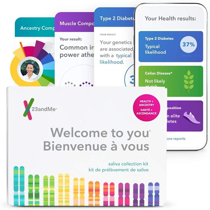 23andMe Health + Ancestry Service. Image via Amazon.