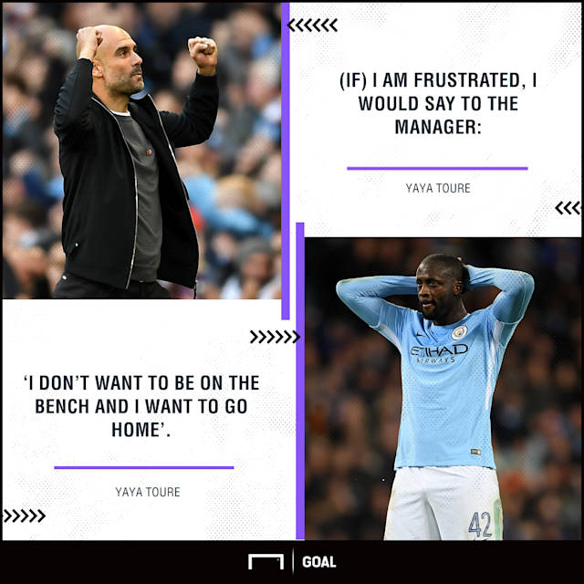 The Ivorian midfielder has been reduced to a bit-part role this season, but he maintains that he is not looking for a way out of the Etihad Stadium