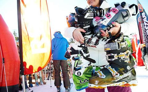 ski boots - Credit: adrian myers