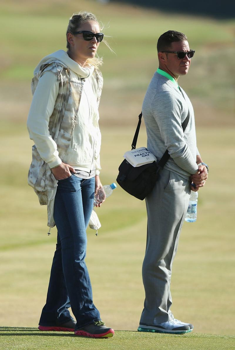 tiger woods and lindsey vonn went on a date at his british