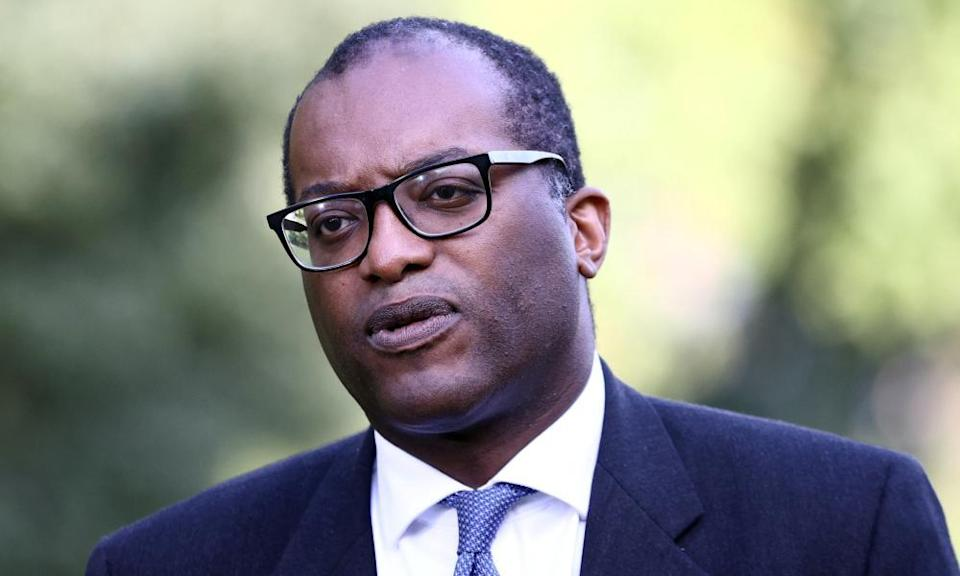 Britain's Secretary of State for Business, Energy and Industrial Strategy Kwasi Kwarteng in London
