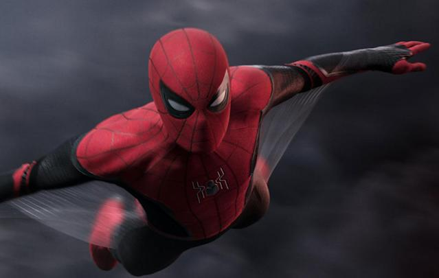 Peter Parker only flies first class now. (Sony Pictures)