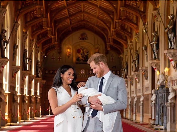 Harry and Meghan and royal baby