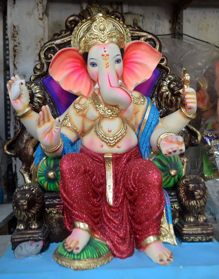 <p>Ganesha festivities in full swing </p>