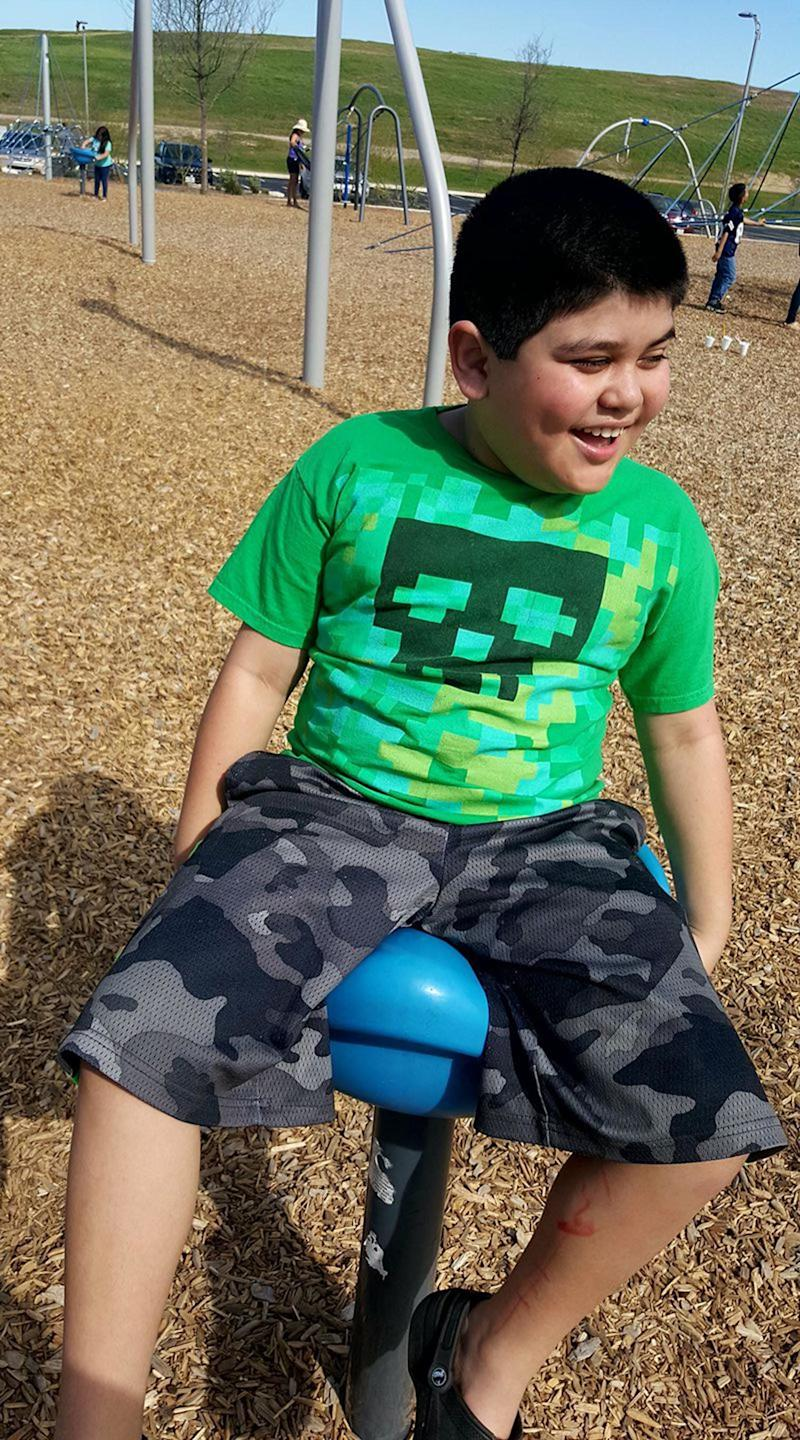 """""""What autism looks like to me: My baby. My world.Making me proud every day. He may never get the chance to tell me in words how he feels or how his day was. But I will understand him regardless, and I will help him understand the world."""""""