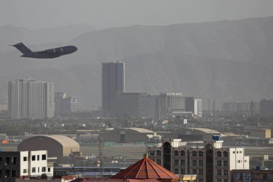 More than 111,000 people have been evacuated from Kabul airport since the Taliban took control of Afghanistan (AFP/Getty)