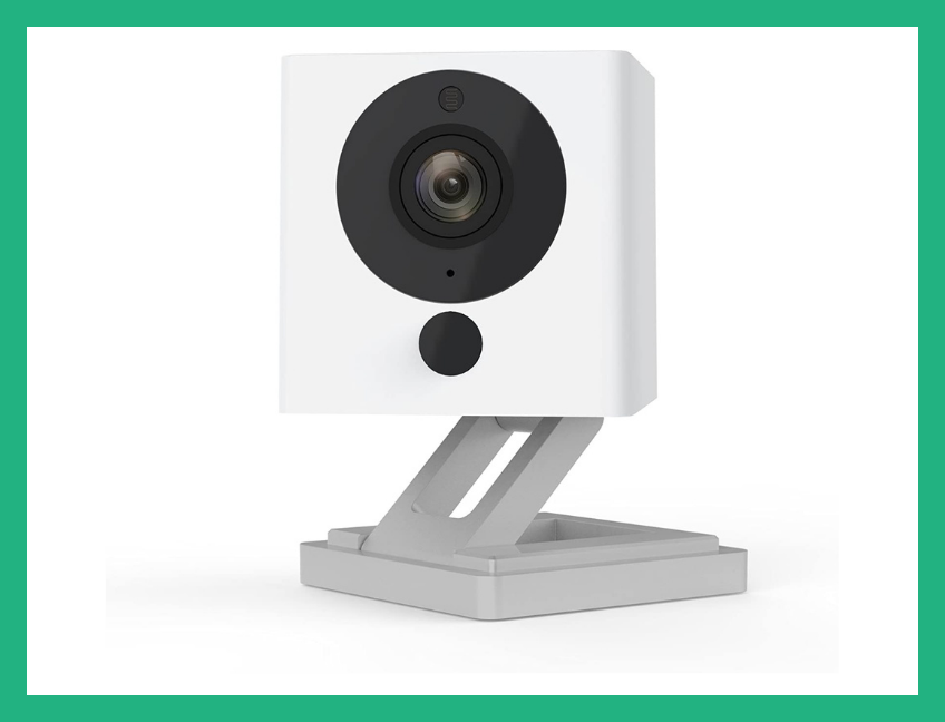 This top-rated security cam has live-streaming, night-vision and motion-detection, and is on sale for just 20 bucks. (Photo: Amazon)