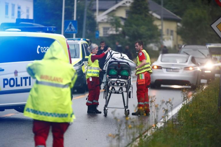 One person was injured in the shooting in the mosque near Oslo